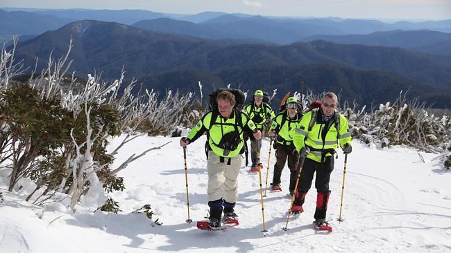 BSAR searchers climbing Eskdale (Heraldsun)
