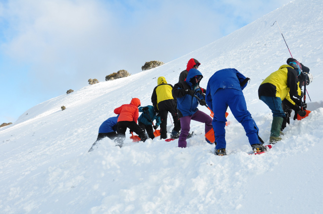 Digging out buried avalanche transceivers