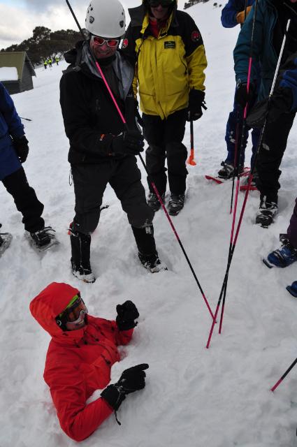 Avalanche probing