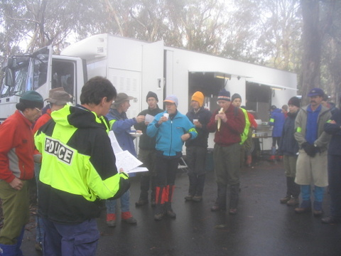 2004 BSAR Mt Buffalo search
