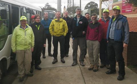2012 BSAR search team Blue Range