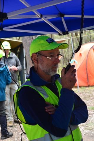 Peter Briggs BSAR Field Organiser