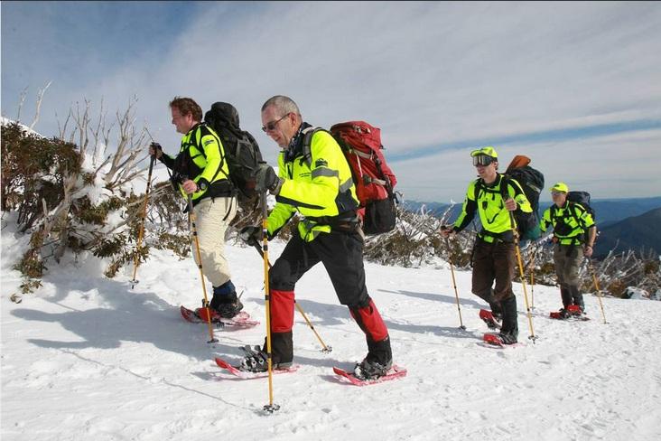 BSAR searchers on Eskdale Spur (Bordermail)