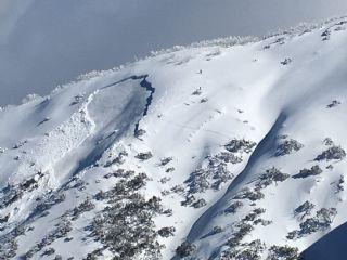 Mt Hotham avalanche Aug 2017