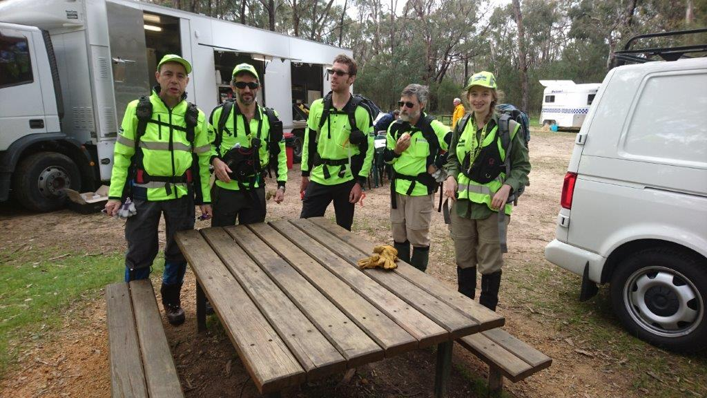 BSAR Searchers at Grampians 2016