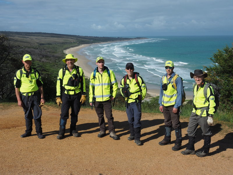BSAR Searchers near Aireys Inlet