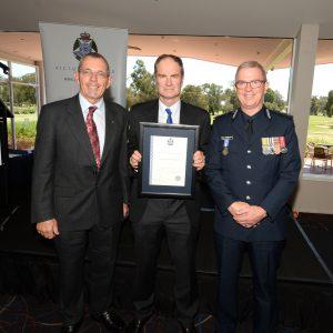 BSAR receives Police Commendation 11 Nov 2017