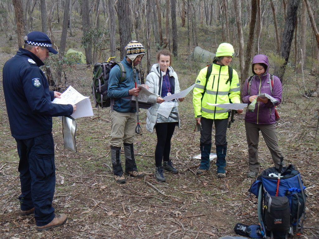 2018 BSAR training Chewton