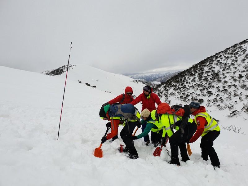 2018 BSAR Steep Snow and Ice Training at the Razorback