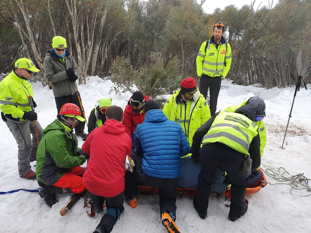 2019 BSAR Alpine training Mt Bogong