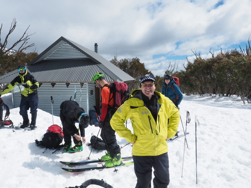 2017 Bogong search - Michell Hut