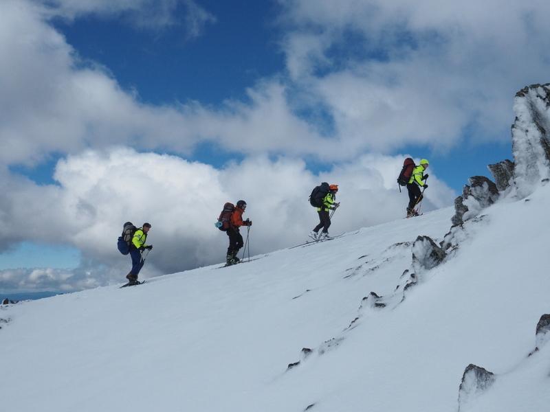 2017 Bogong search - climbing Eskdale Spur